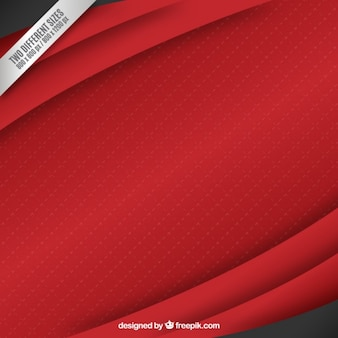 Red layers background