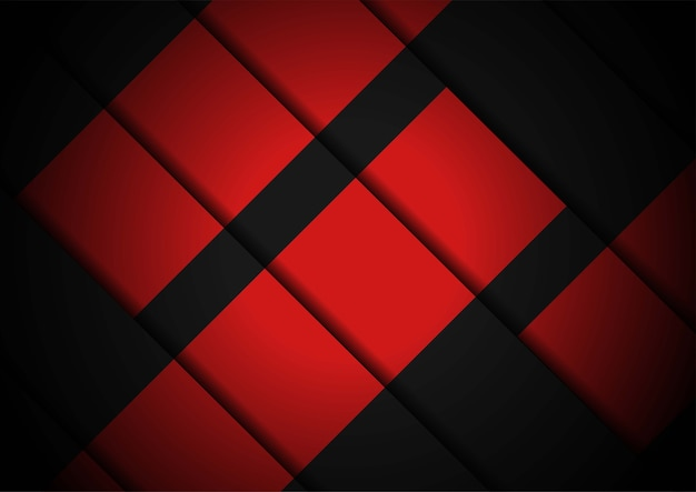 Red light abstract geometric background