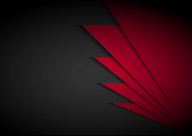Red light arrow black with wavy mesh background