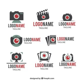 Red light camera logo collection