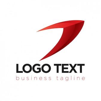 Red logotype design