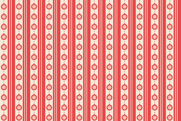 シームレスな赤のメリークリスマスパターン