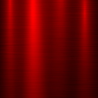 Red metal technology background