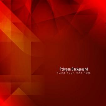 Современные красный геометрический дизайн фона