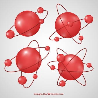Red molecules collection