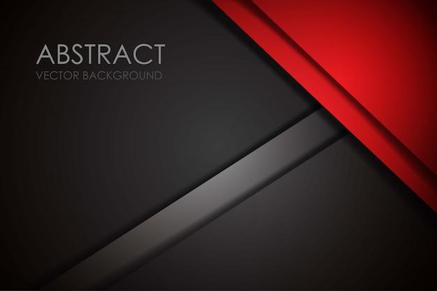 Red overlap dimension grey modern futuristic
