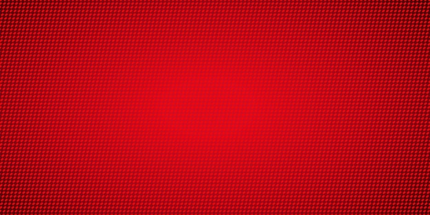 빨간 픽셀 패턴 배경