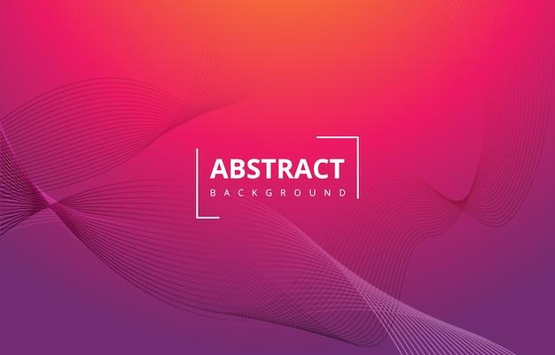 Красный фиолетовый абстрактные волны линии градиент текстуры фона обои графический дизайн