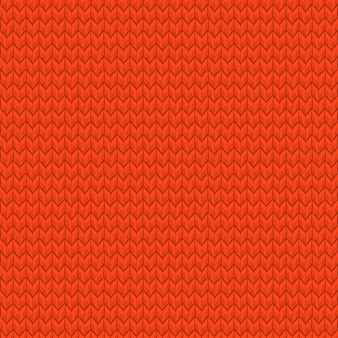Red realistic seamless knit pattern. and also includes