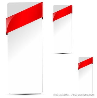 vertical corner ribbon vectors photos and psd files free download