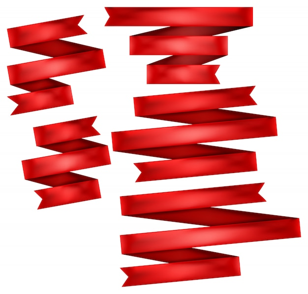 赤いリボンセット