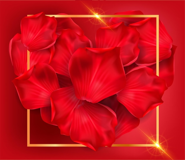 빨간 장미 배경입니다.