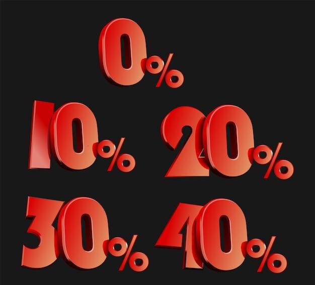 Красная распродажа, красный знак скидки, промо-акция, специальное предложение