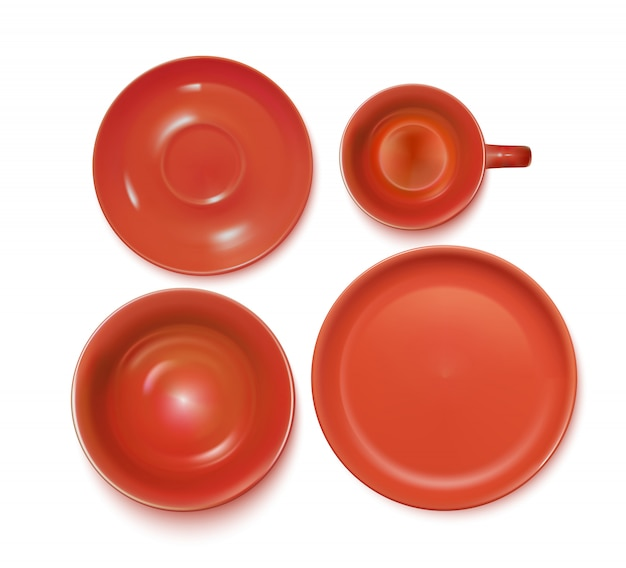 Red service set