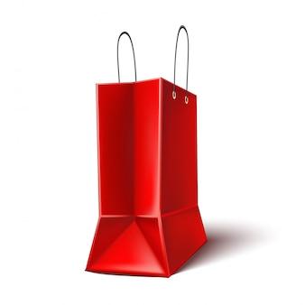 검은 금요일 포스터 빨간 쇼핑백
