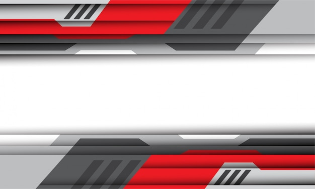 Red and silver cyber  futuristic technology background.
