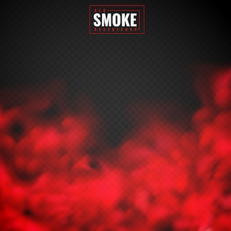 Red smoke background