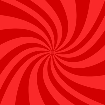 Red spiral background design