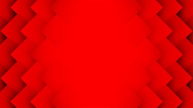 Красный квадрат геометрический фон перекрытия