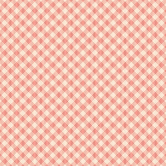 Red square and line pattern