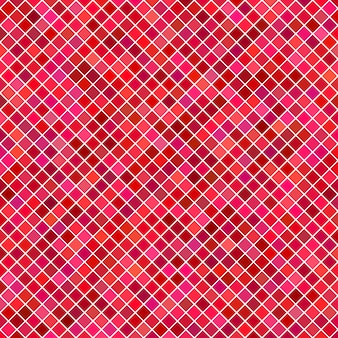 Red square pattern background - vector graphic