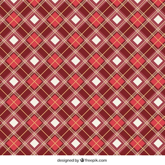 Red squares pattern
