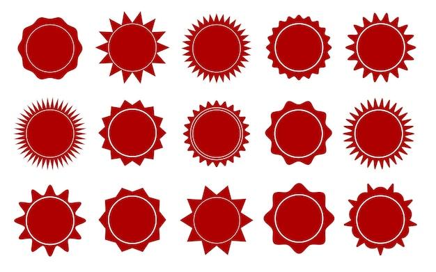 레드 스타 스티커 특별 제공 판매 태그 할인 제공 가격 라벨 빈 프로모션 햇살 스틱