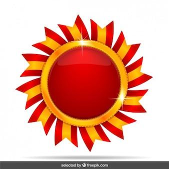 붉은 태양 메달