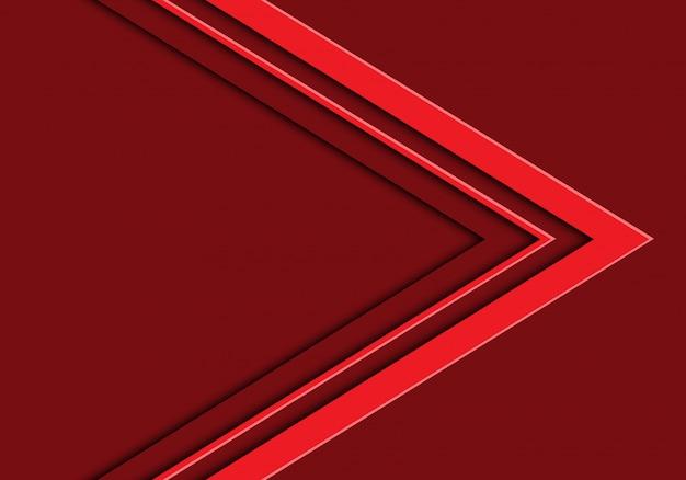 붉은 톤 화살표 빈 공간 배경입니다.