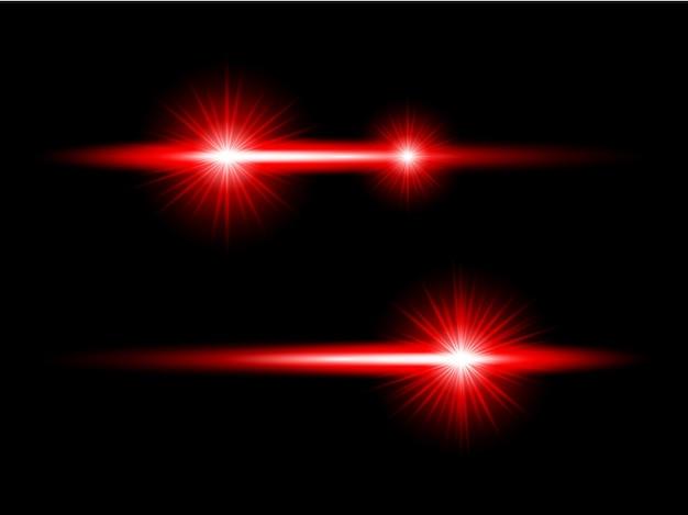 Красный прозрачный фон объектив блики пакет