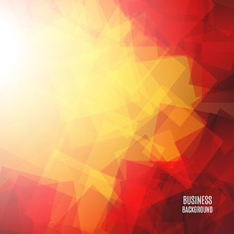 Red transparent squares shapes technical background