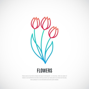 Букет красных тюльпанов, изолированные на белом фоне
