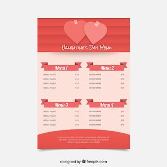 Дизайн красной валентинки