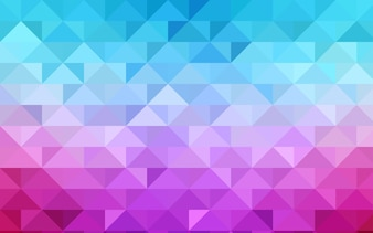 Red vector abstract polygonal pattern