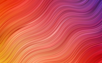 Red vector pattern with liquid shapes