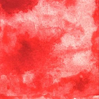 Красная акварель