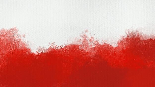 Красный акварельный фон текстуры бумаги