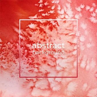 赤い水彩テクスチャ抽象的な背景