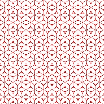 Red White Background Texture Pattern