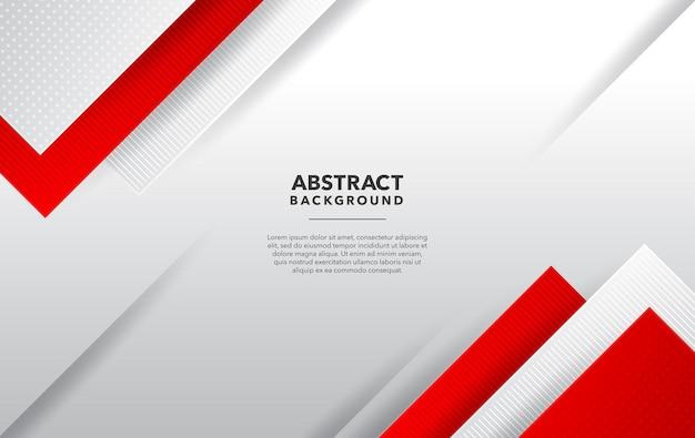 Красный белый современный абстрактный фон дизайн