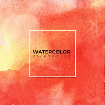 Red yellow abstract watercolor background for textures backgrounds