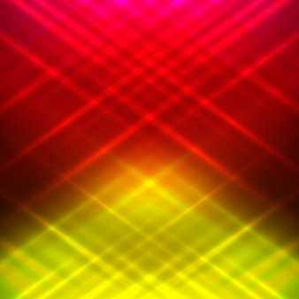 Colorato sfondo luminoso incandescente
