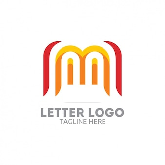 Red and yellow letter logo