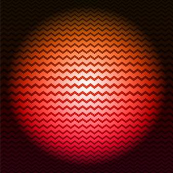 Red zigzag background