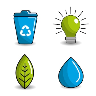 Reduce, reuse and recycle icon