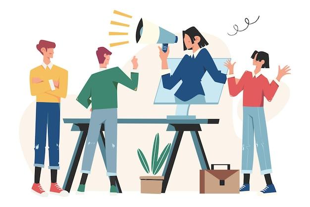 추천 마케팅 개념, 친구 로열티 프로그램, 프로모션 방법