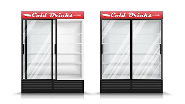 Refrigerator realistic