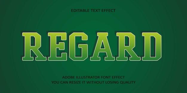 편집 가능한 텍스트 글꼴 효과