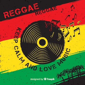 Reggae background