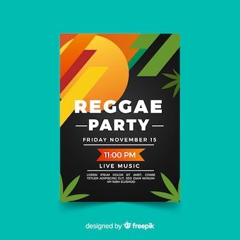 Reggae party banner